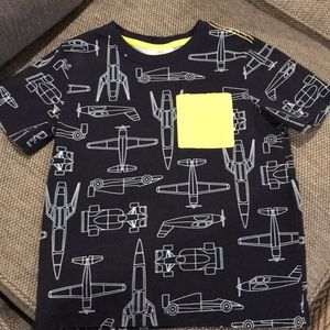 Hanna Andersson Boys Short Sleeve T-shirt